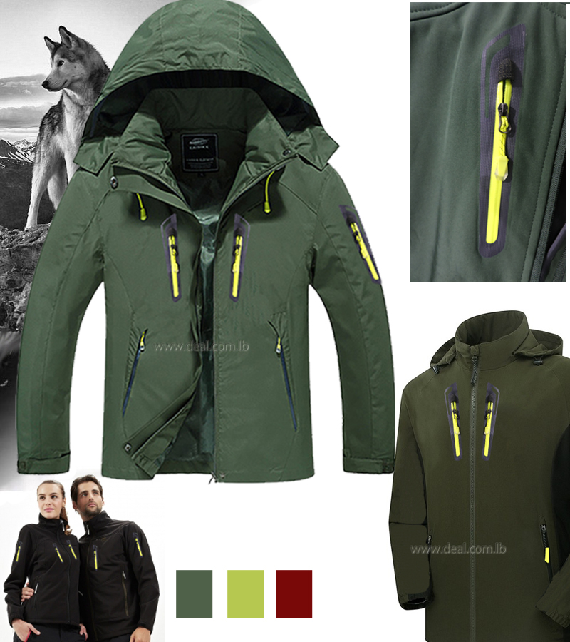 Men and women spring and autumn thin single layer waterproof hardshell mountaineering for couples