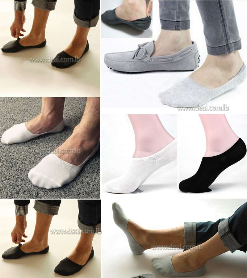 Unisex Bamboo Invisible Ankle Socks