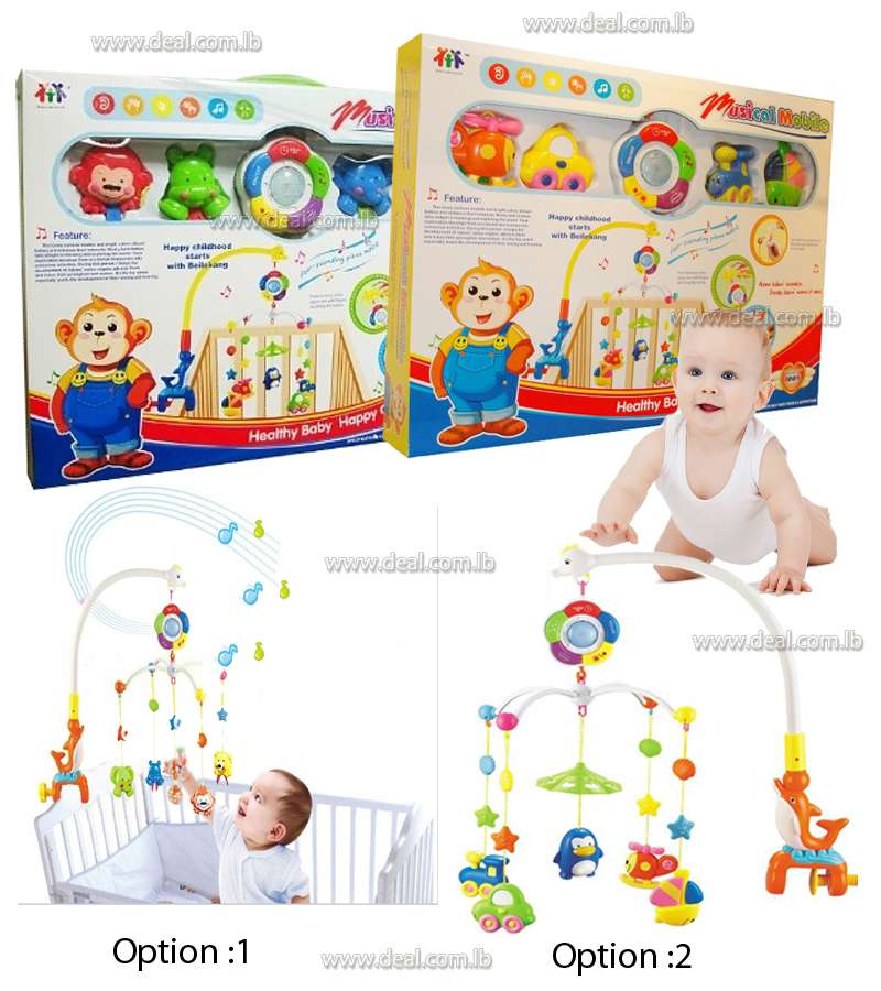 Musical Mobile Set For Baby