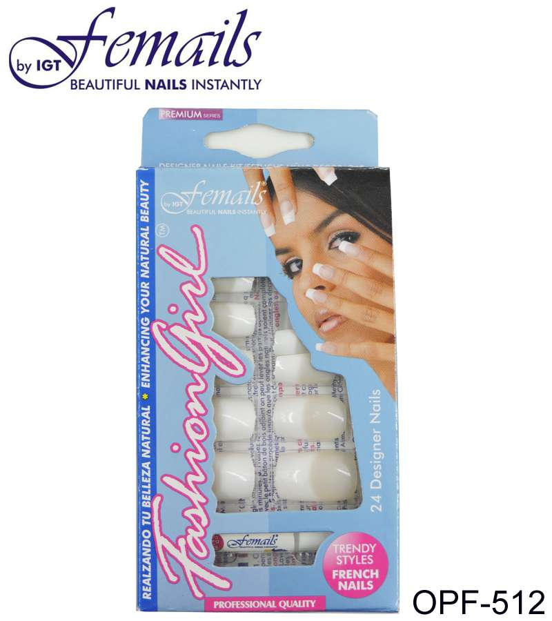 OPF-512 Artificial nails FRENCH Pink