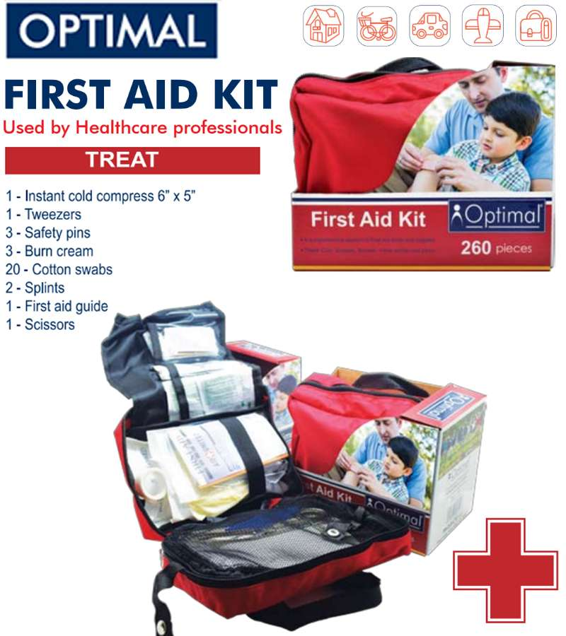 Optimal First AID Kit 260 PCS