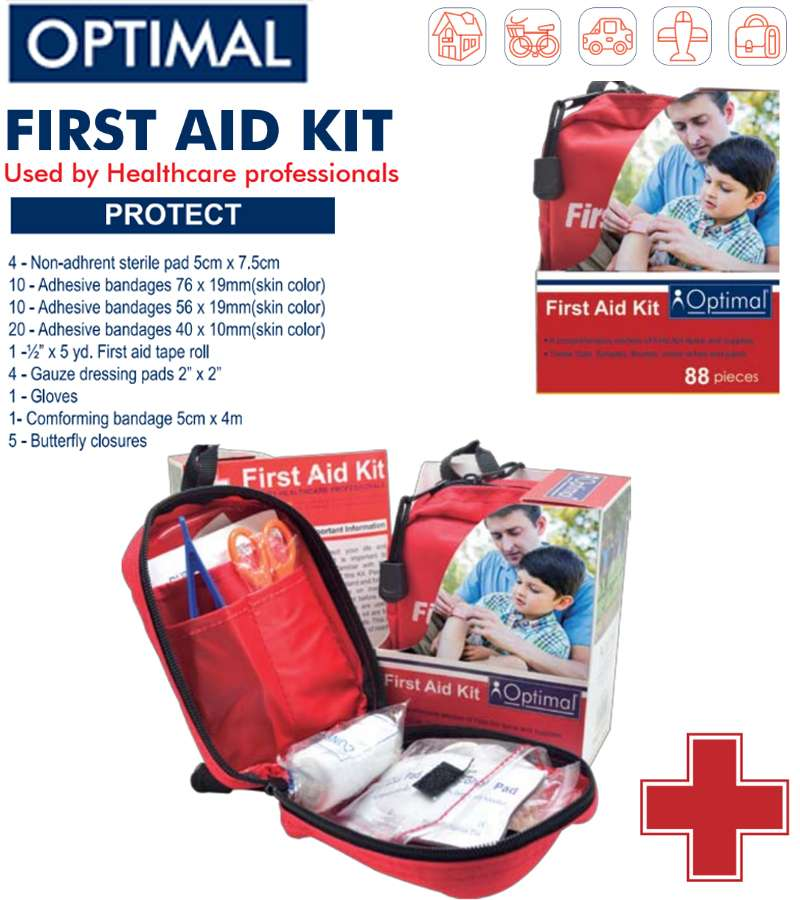 Optimal First Aid Kit 88 PCS