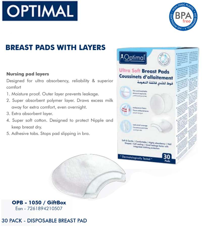 Optimal Ultra Soft Breast Pads