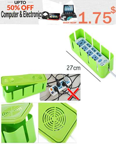 Outlet port safety board storage container structu