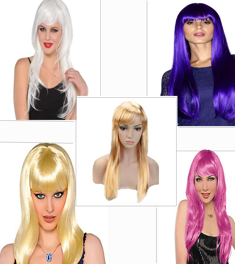 Party Long Hair Wig