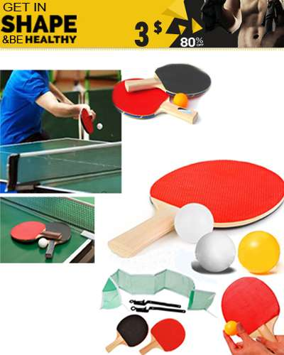 Pingpong Racket Table Tennis Racket
