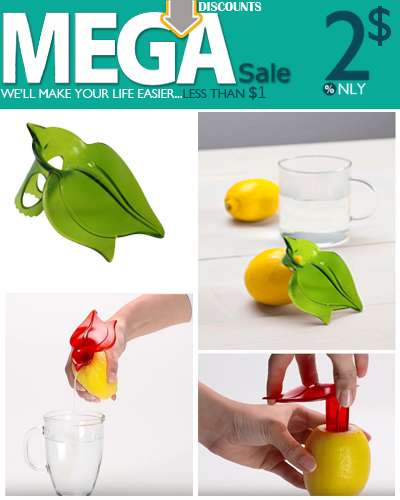 Plastic Hand Held Juicy Fruit Citrus Juicer and Po