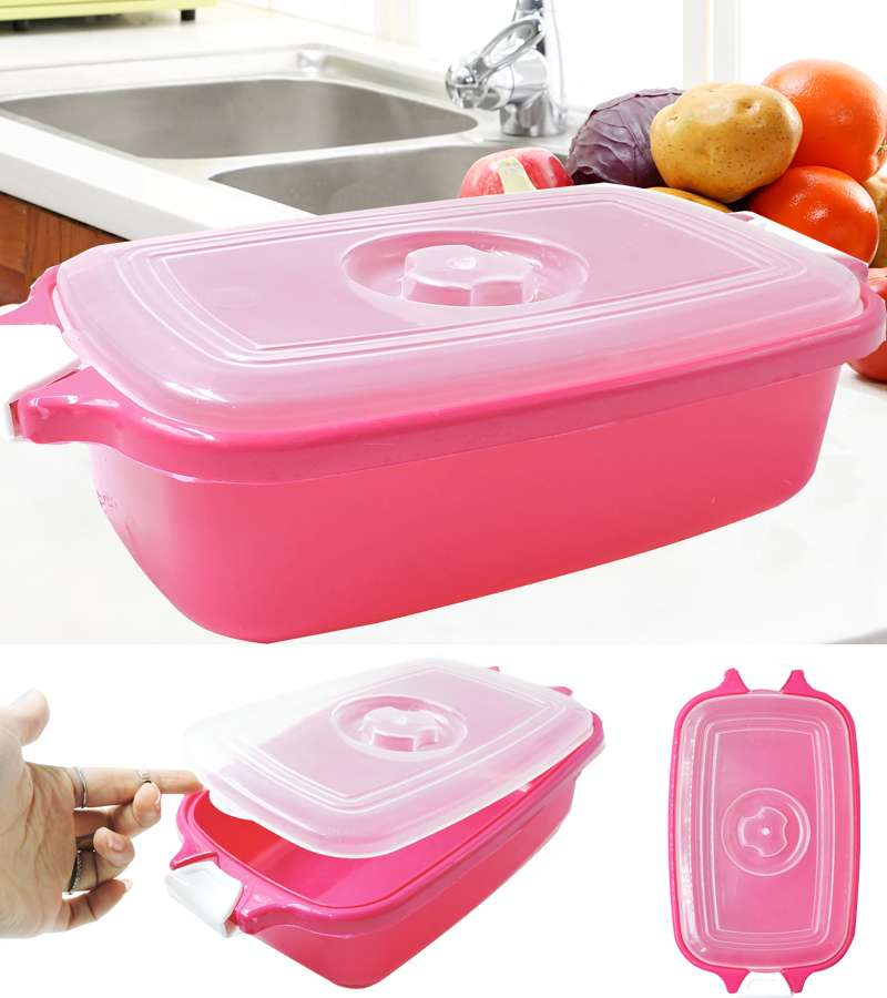 Plastic Rectangular Food Storage Containers with Lids