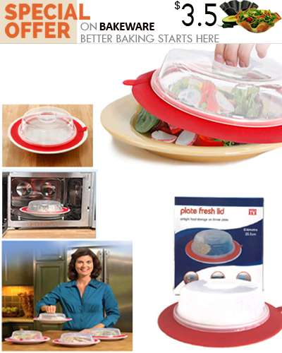 Plate Fresh Lid Airtight Food Storage On Dinner Pl