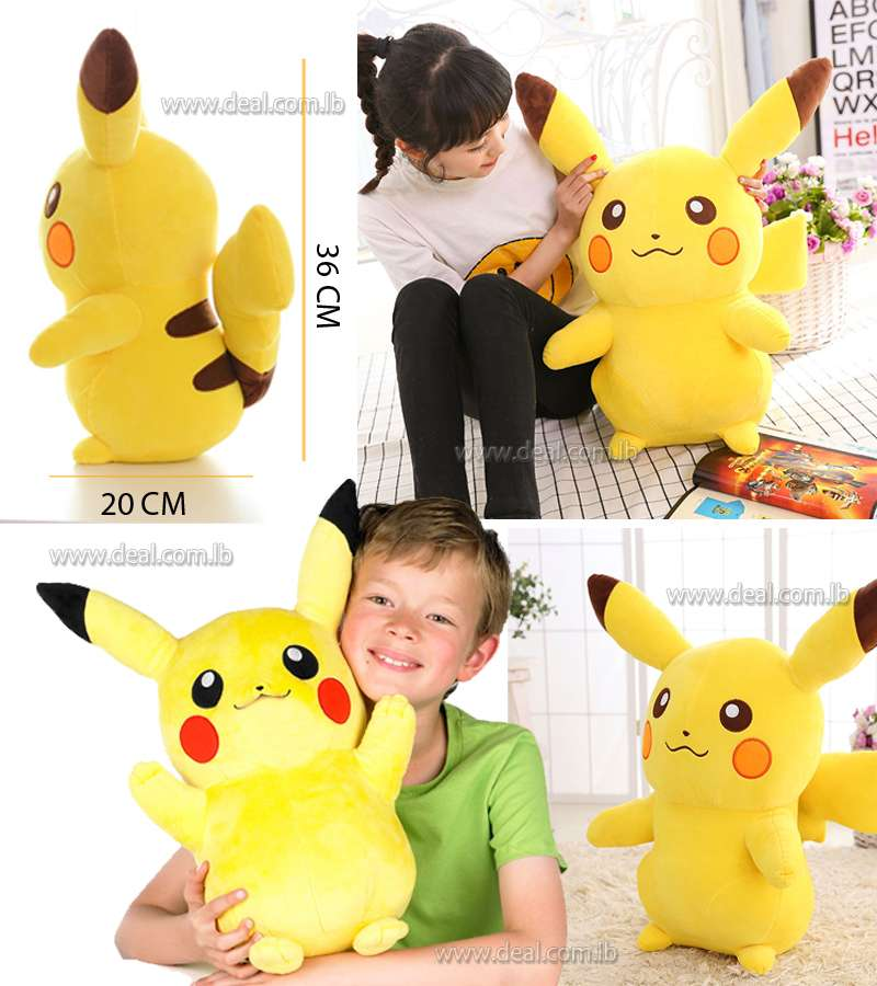 Pokemon Pikachu Toy Soft Stuffed Doll