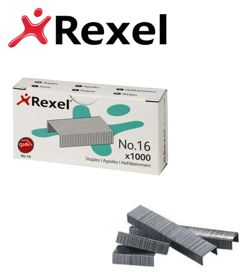 Rexel Staples No.16 x1000