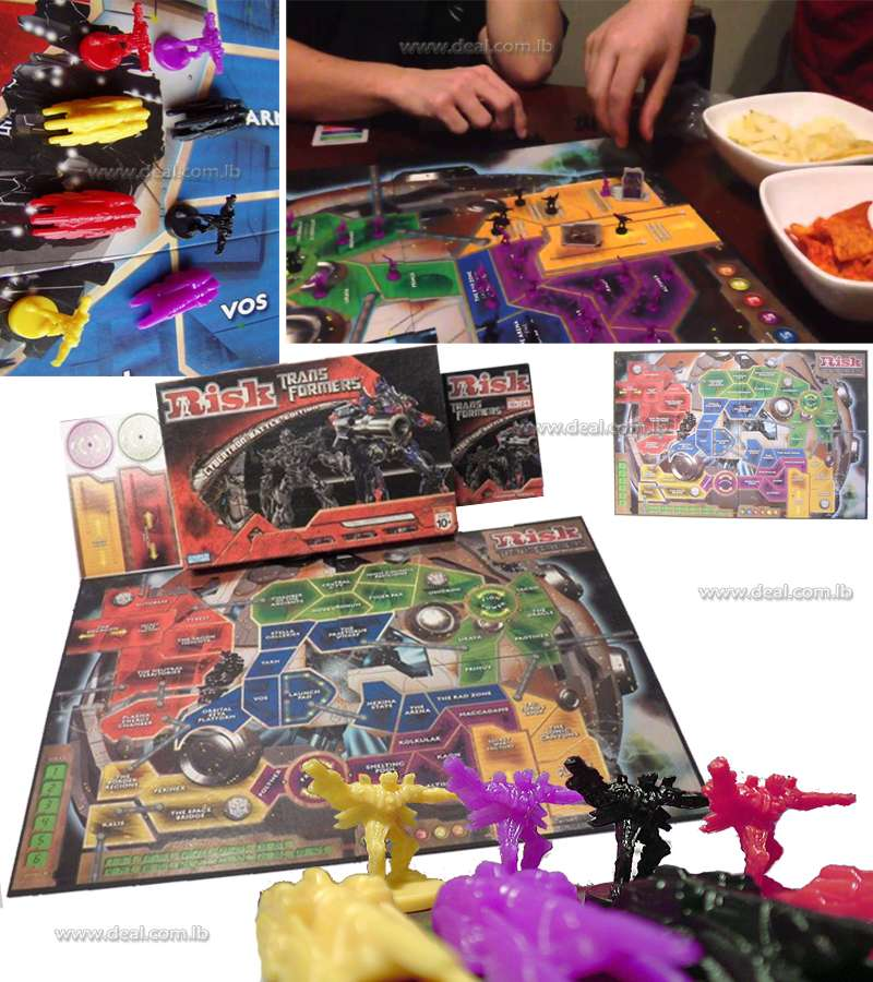 Risk Transformers game