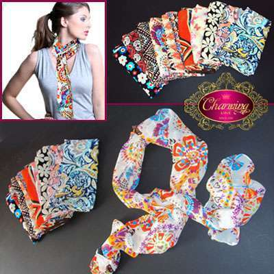 Charming Line Style Design New Fashion Women Girls Scarf