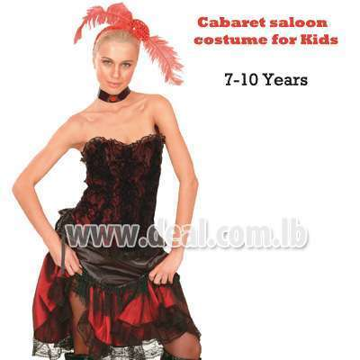 Cabaret costume for kids Ages 7-10 yrs old
