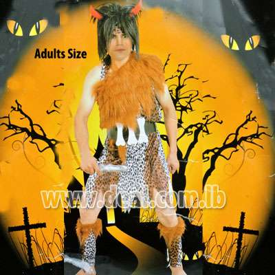 Boy Caveman Costume for Adults