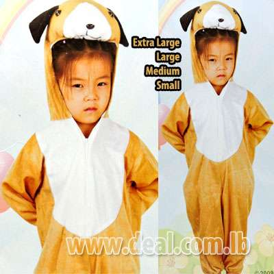 Little Bear Kids Costume