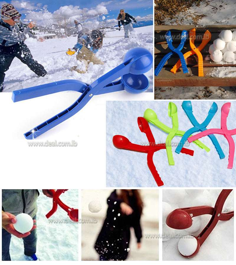 Snowball Clip Snowball Creator Snow Fight Toy
