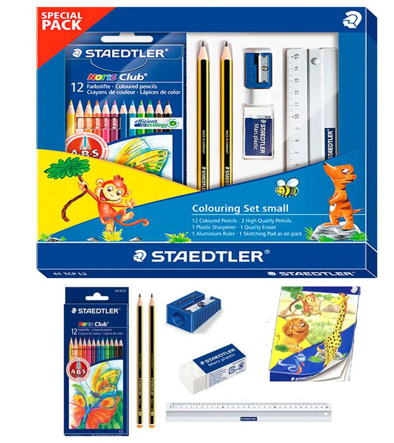 Staedtler Colouring Set small SPECIAL PACK 61TCPL2