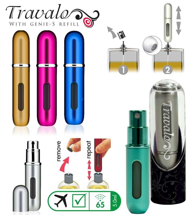 Travalo Refillable Fragrance Atomizer