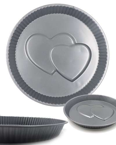 Two Heart cake mould
