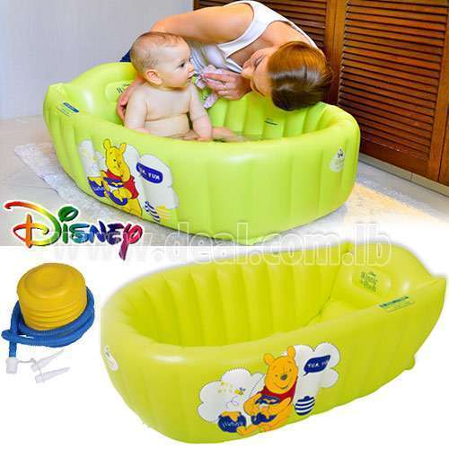 Original  Disney Pooh baby bath big thick