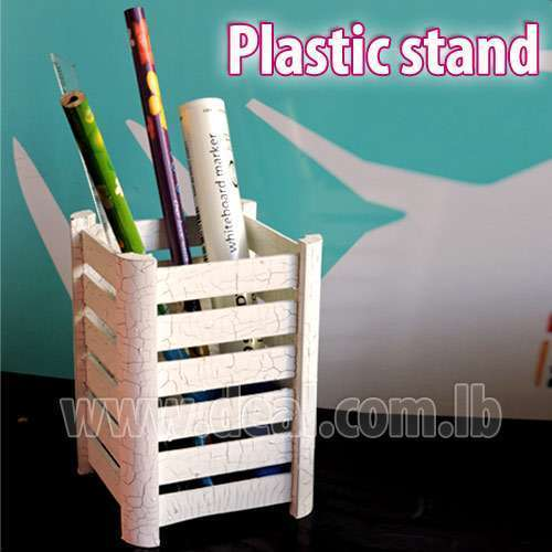 Plastic Pen Stand For office use