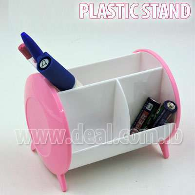 Plastic stand pen for your desk