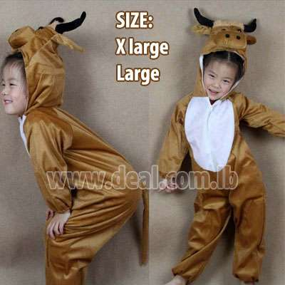 Pride Bull child cosplay cloth Animal role play ch