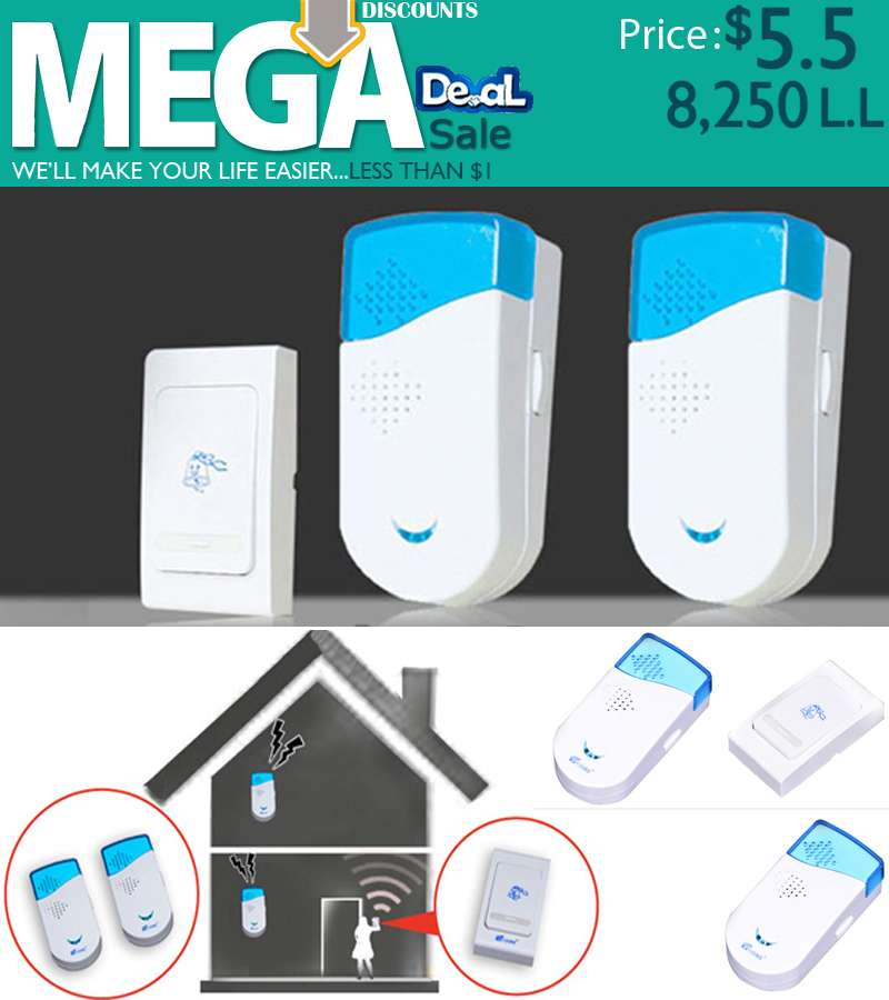 V-ZORR 100M Wireless Remote Controlled Doorbell