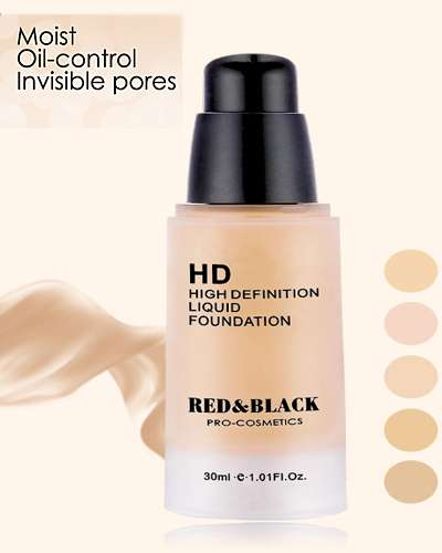 Waterproof Long lasting High Definition Foundation 30ml