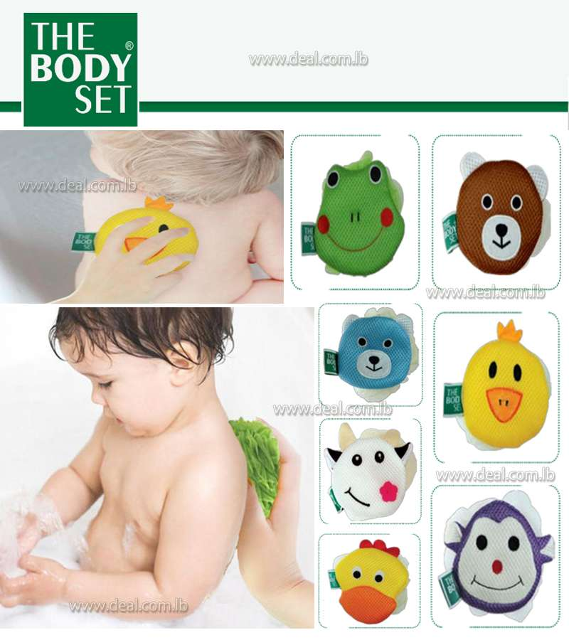 Kids Bath sponges Animal Characters