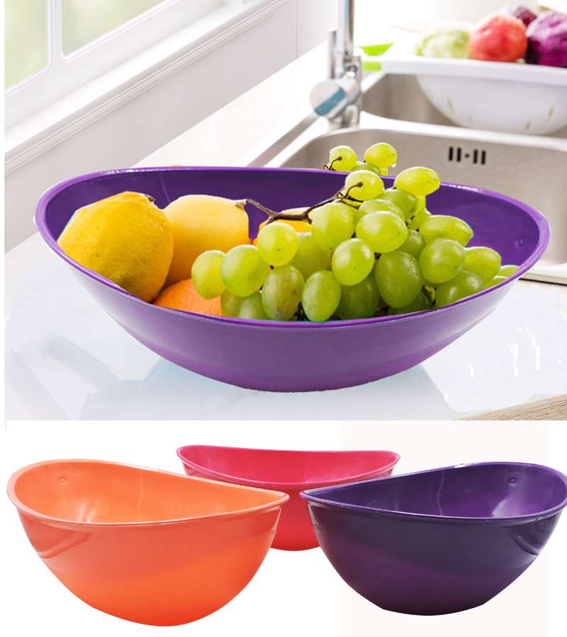Fruits & vegetables plastic bowl