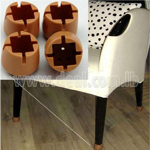Large Chair Tips Chair Leg Rubber Protector Caps