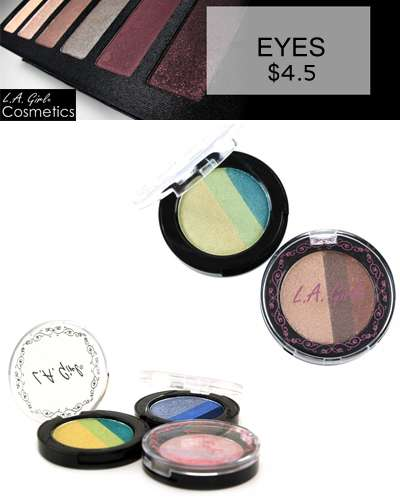 LA Girl High Definition Eye-shadow Trio