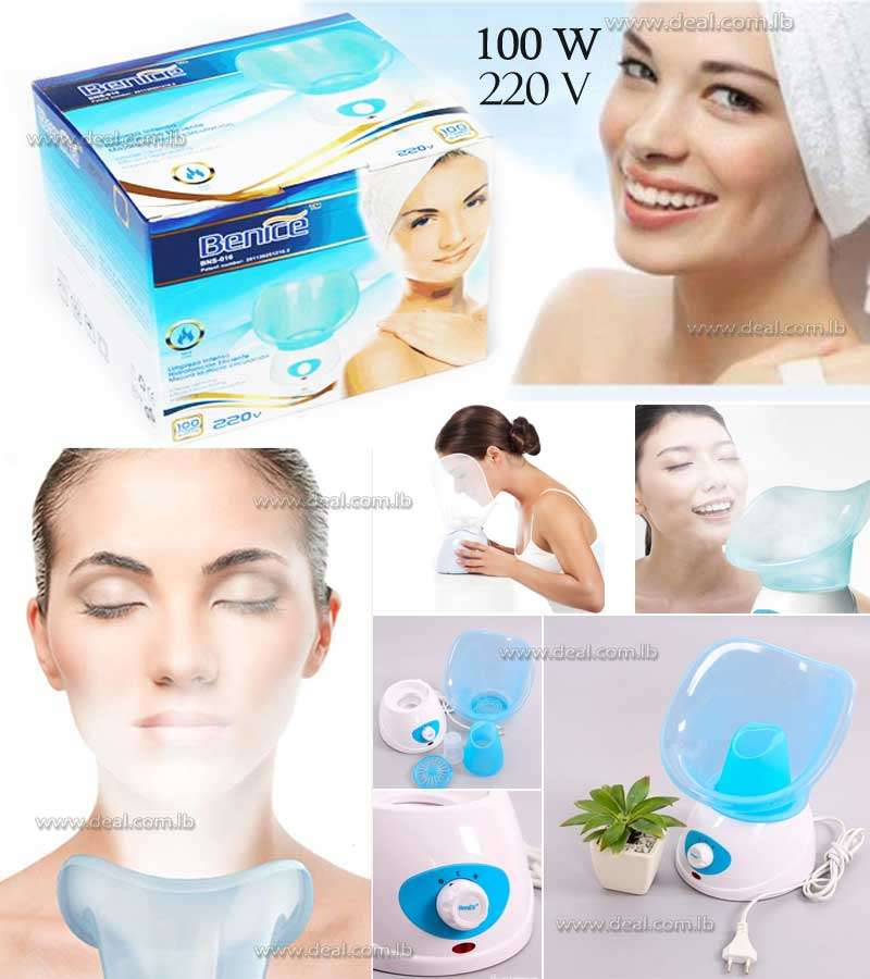 Portable Ozone Sauna and Spa Aromatherapy Facial Steamer