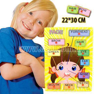 Face Girl Puzzle 22*30 cm