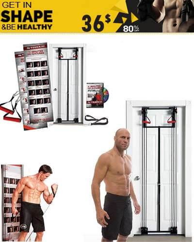 Tower 200  Body by Jake home gym