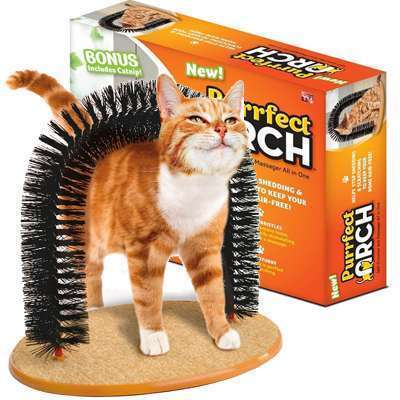 Cat Brush Scratcher