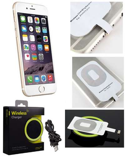 iPhone wireless charger pad and Receiver Card