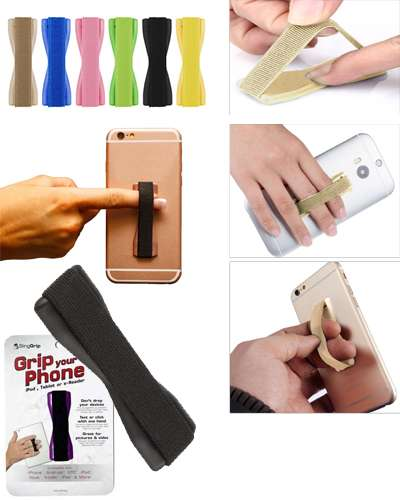 Finger Sling Grip Your Phone