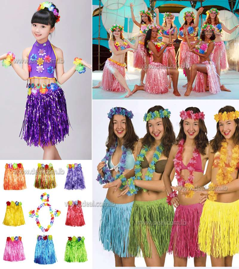 Hula Skirt Kit
