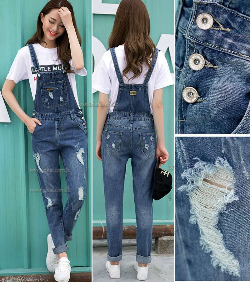 Casual jeans Ripped Jeans Jumpsuits size M