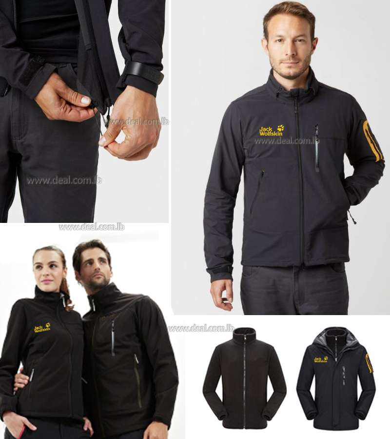 Double face Mens WARM winter 2 in 1 Jacket