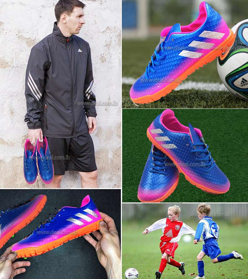 Purple Men and Children Football Soccer Summer Shoes