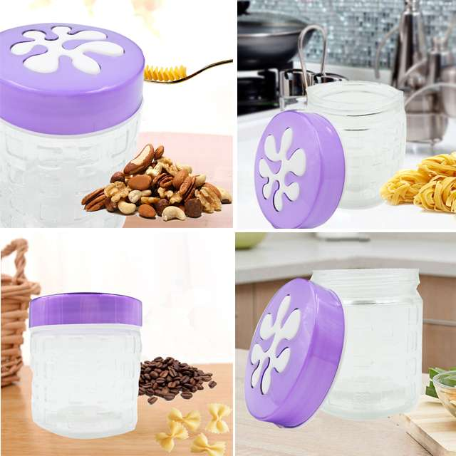12*9.5cm kitchen supplies glass Pasta and nuts jar