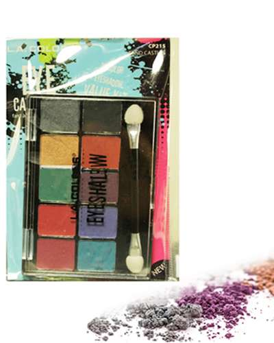 10 Color Eyeshadow Palette-Sand Castle