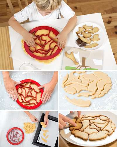 Cookie Cutter Puzzle Animals