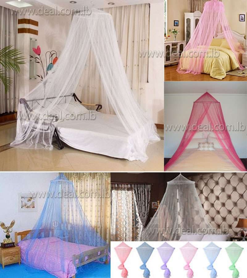 Foldable Quality Deluxe Hanging Dome Mosquito Net