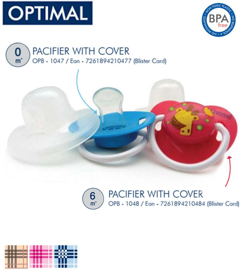 Orthodontic Dust Free Pacifier 6+ & 0+ Month