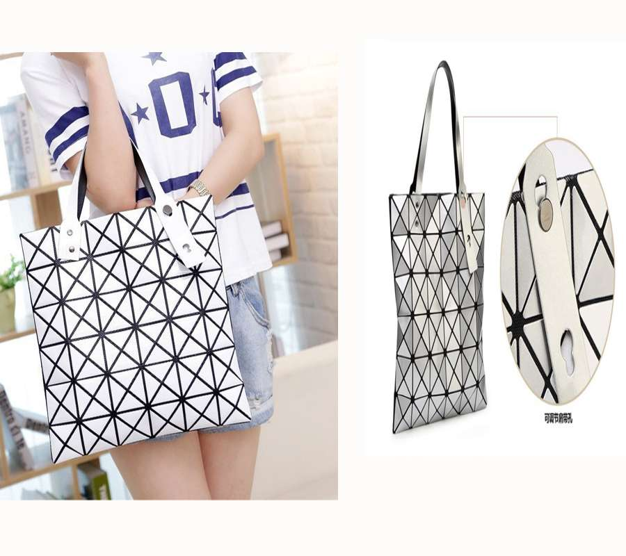rubiks cube diamond shaped handbag